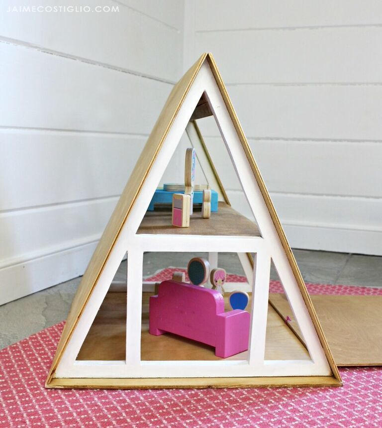 Ana White | A Frame Dollhouse - DIY Projects