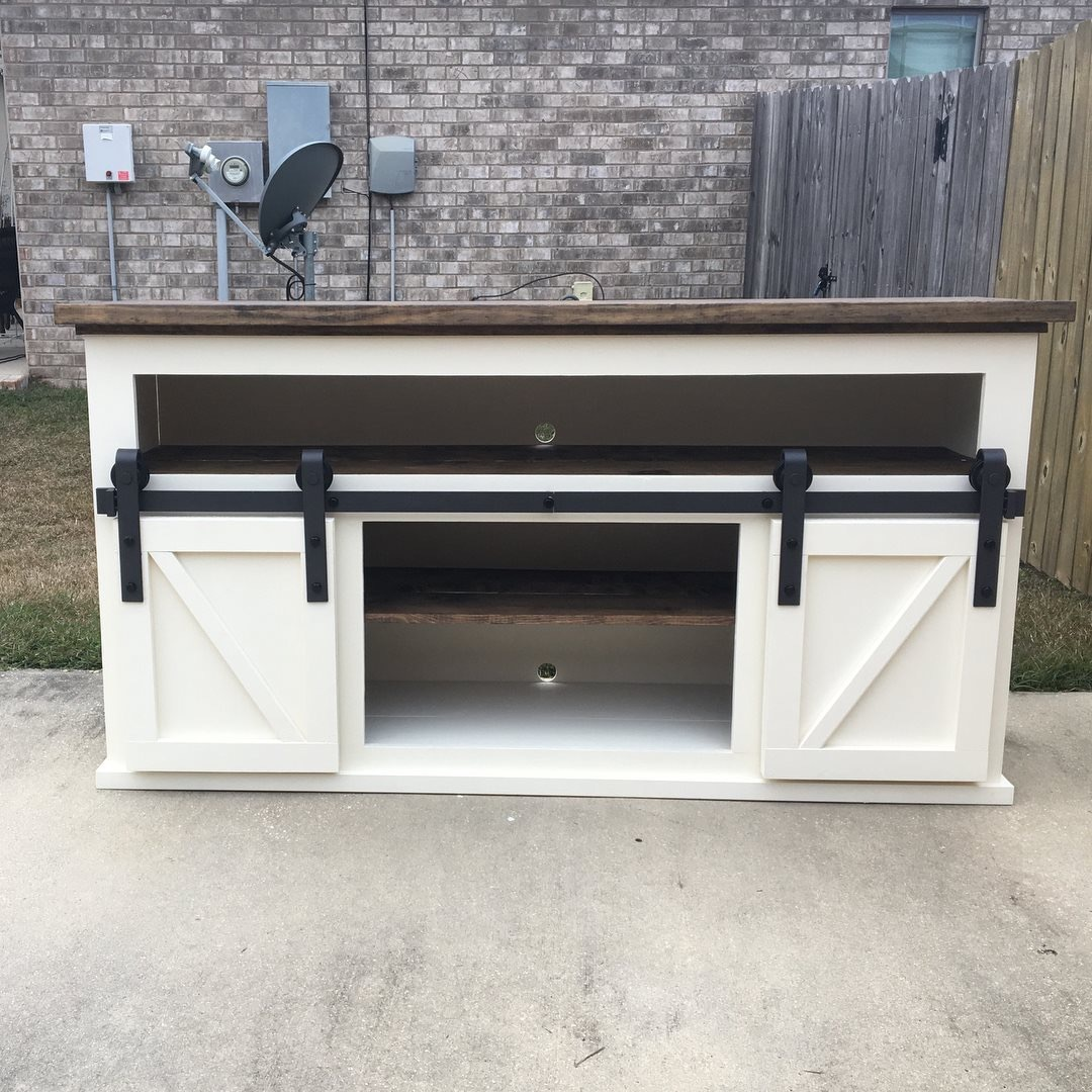 Ana White Barn Door Console Diy Projects