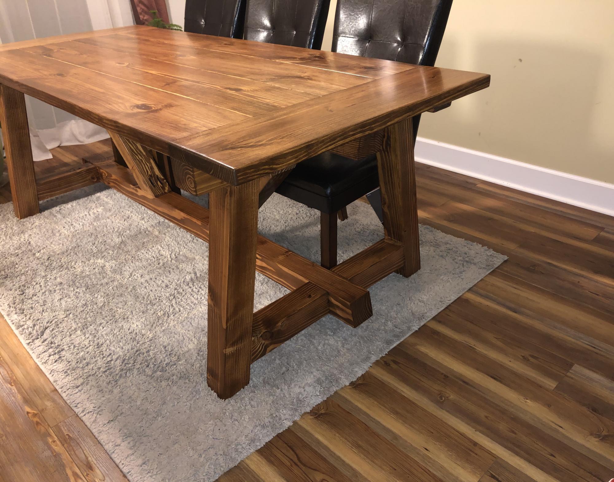 4x4 Farm Table By Csg Ana White