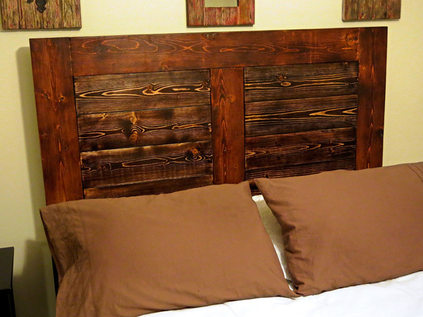 bed frame for a full sized mattress made mainly from 2 inch thick wood - Wood Full Size Bed Frame