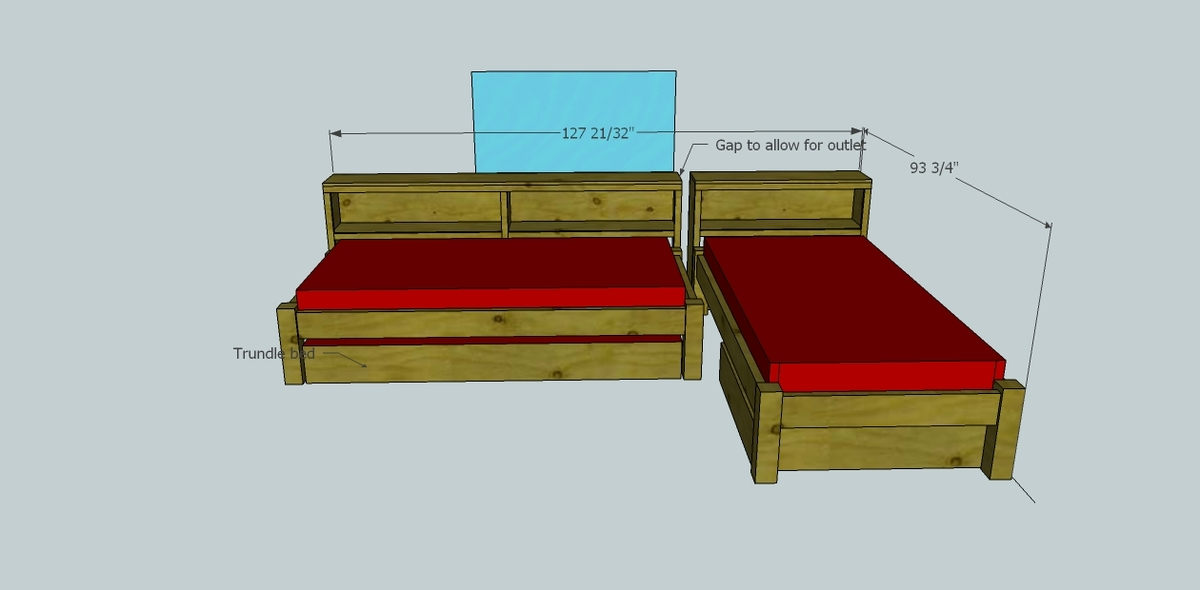 Cozy Corner Twin Bed Collection