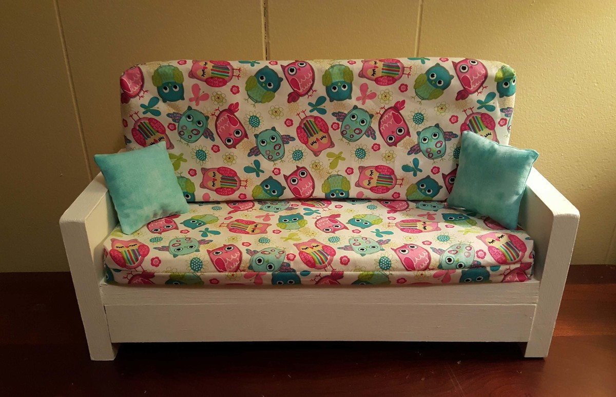homemade doll furniture. Ana White 18 Doll Couch Diy Projects Homemade Furniture