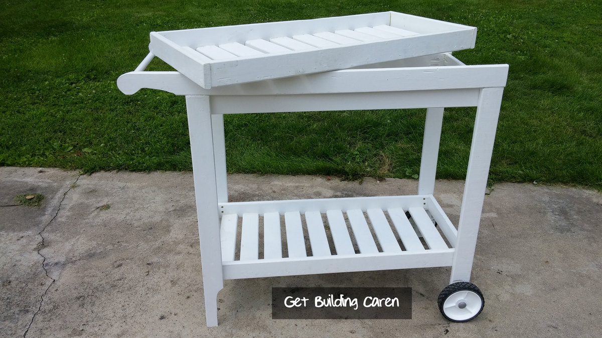 Ana White | Bar Cart or BBQ Cart - DIY Projects