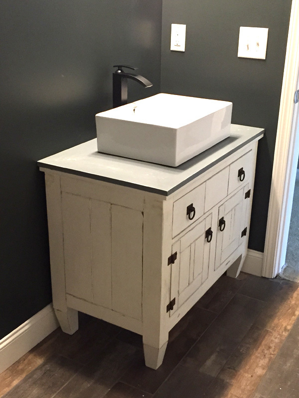 Ana White | Farmhouse Bathroom Vanity Featuring Andrew ...