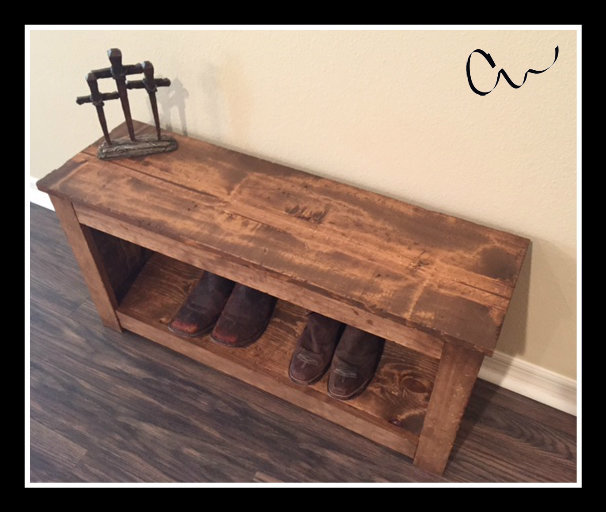 ana white simple bench from pallets diy projects