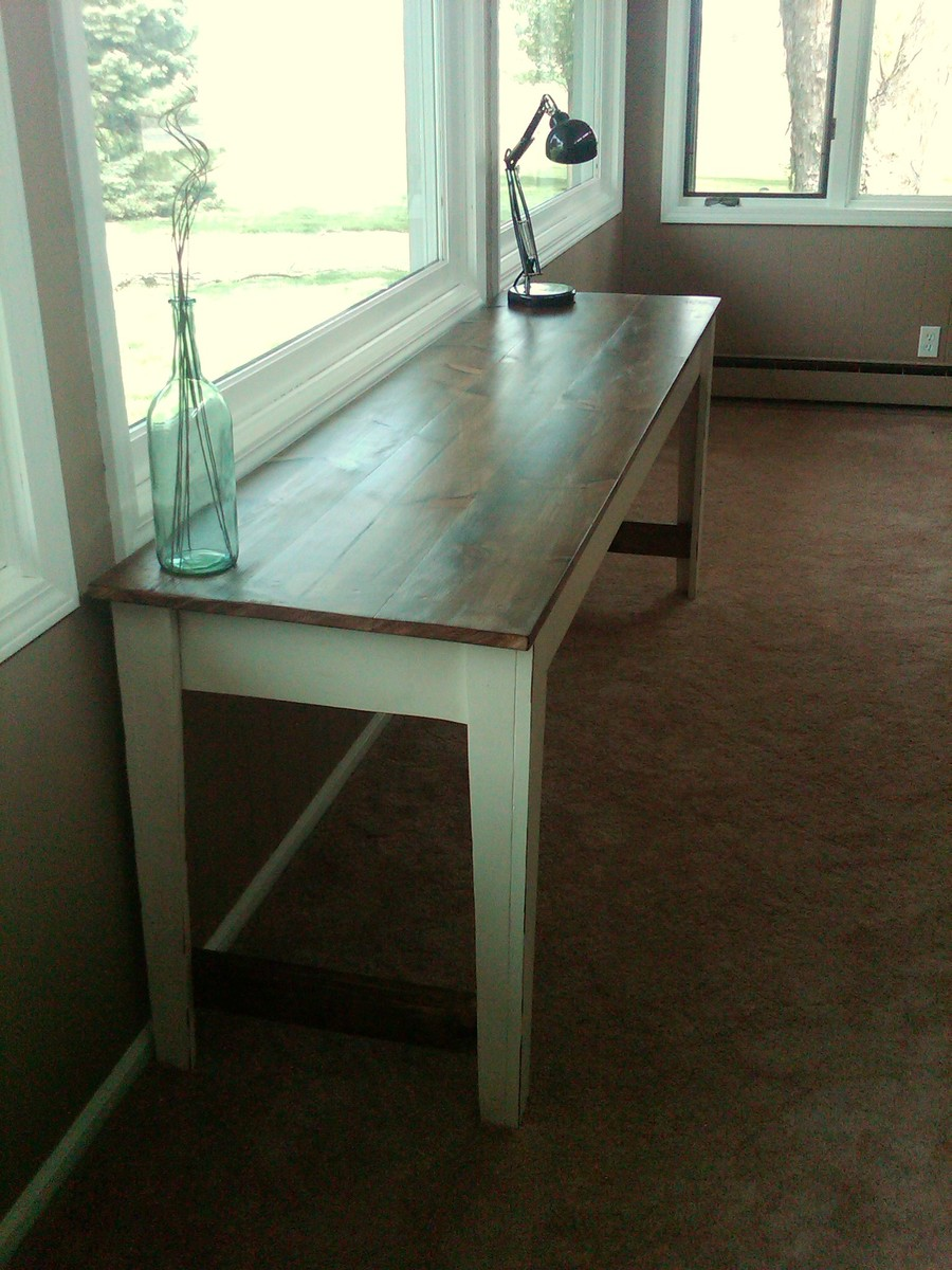 50 inspired narrow farmhouse table Narrow farmhouse table plans