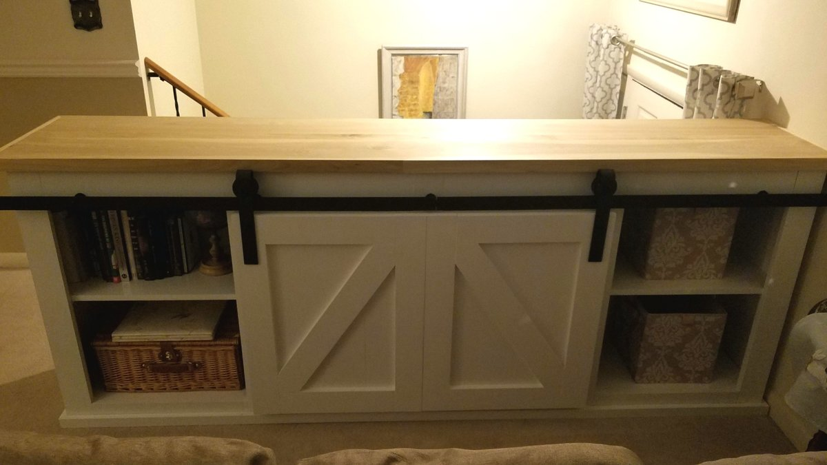 Ana White Sliding Door Console To Replace Split Level