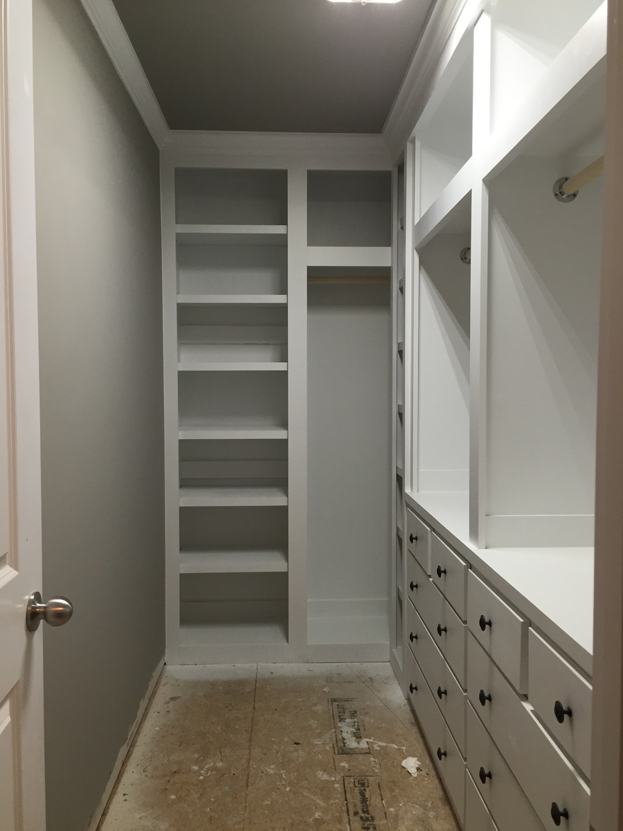 Built In Closet : Ana white built in closet diy projects