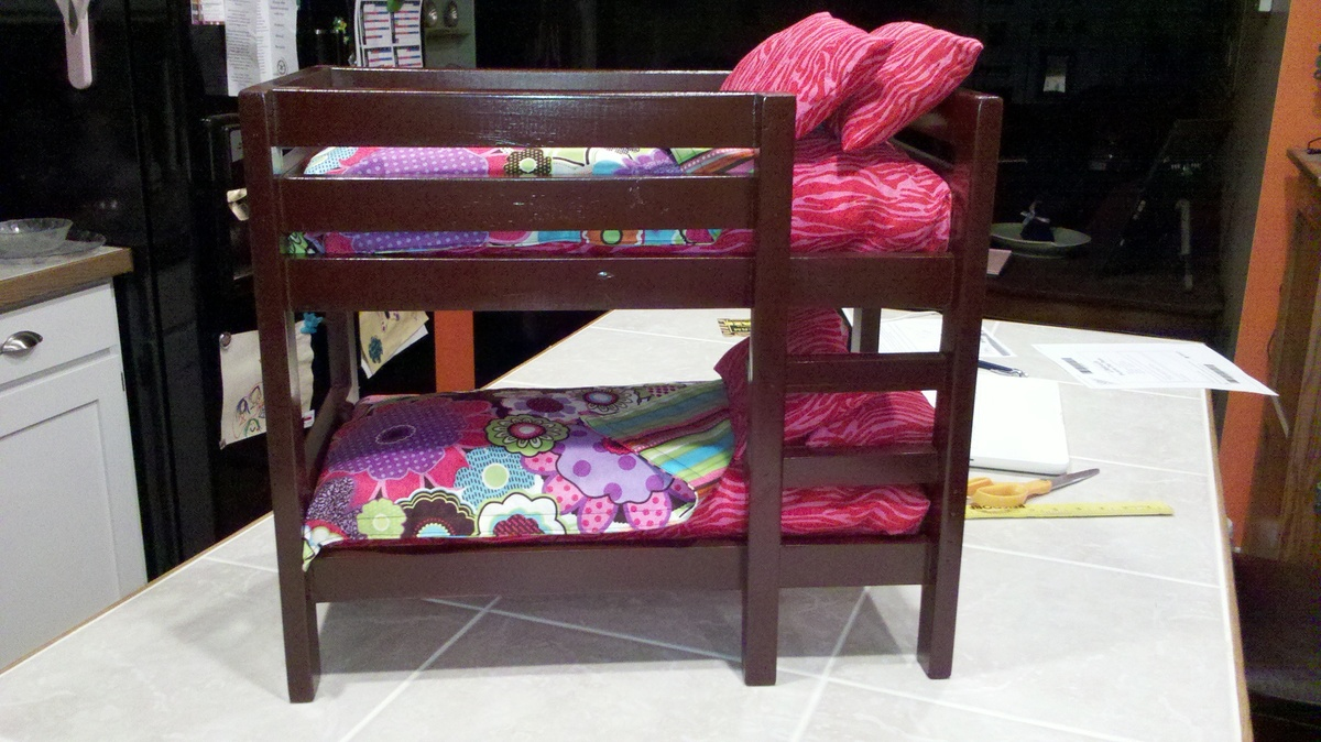 ... Ana White Build A Doll Bunk Beds For American Girl Doll And 18 Doll