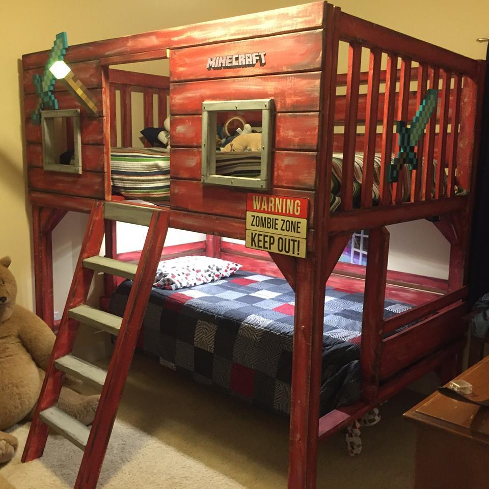 Cool Full Size Beds For Boys