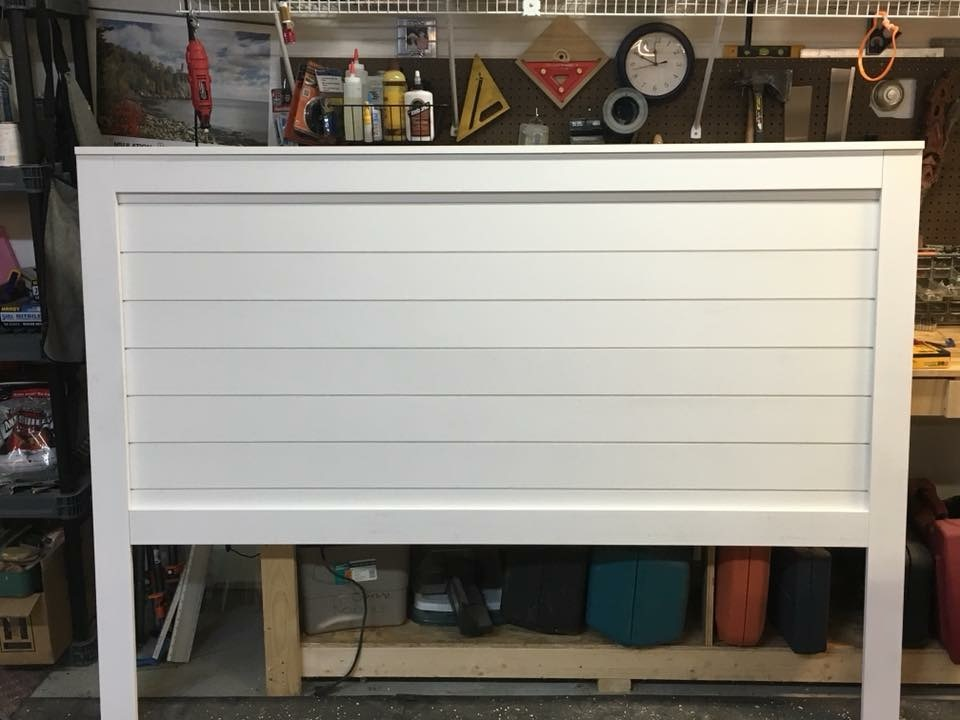 How To Make A Shiplap Headboard Easy Craft Ideas