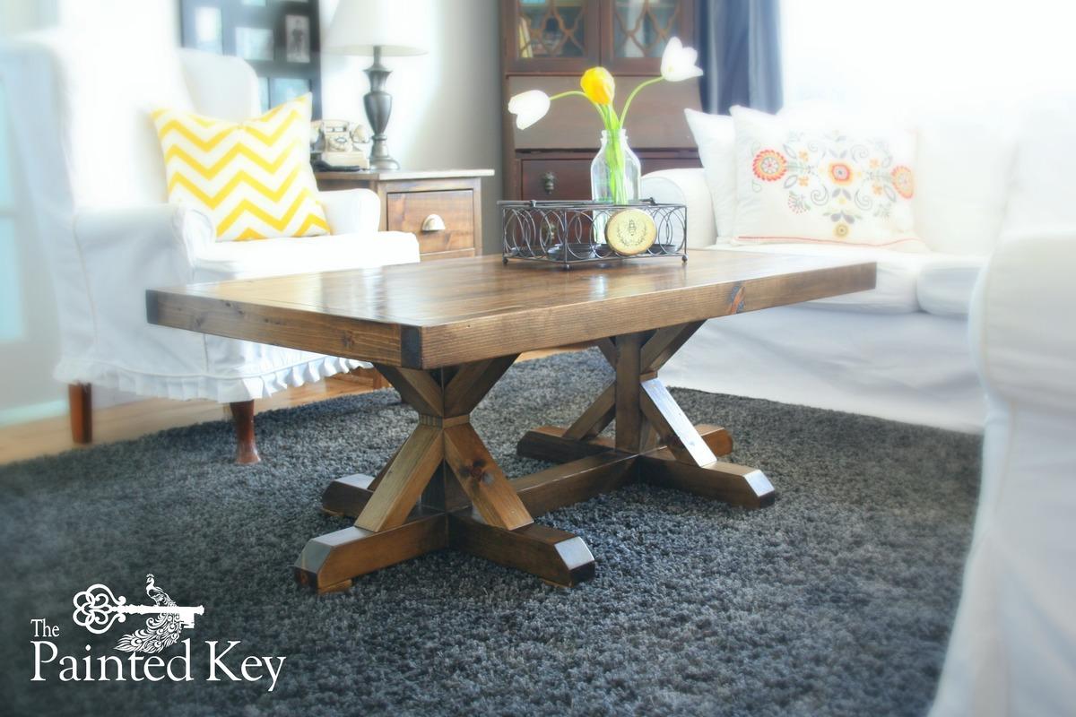 Trestle Coffee Table Ana White