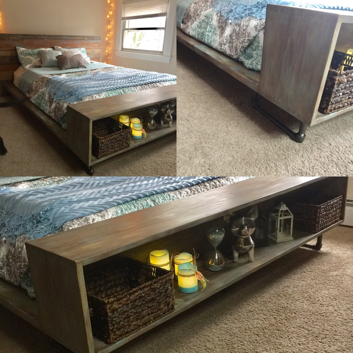 My Version Of Crate And Barrel Atwood Queen Bed Ana White