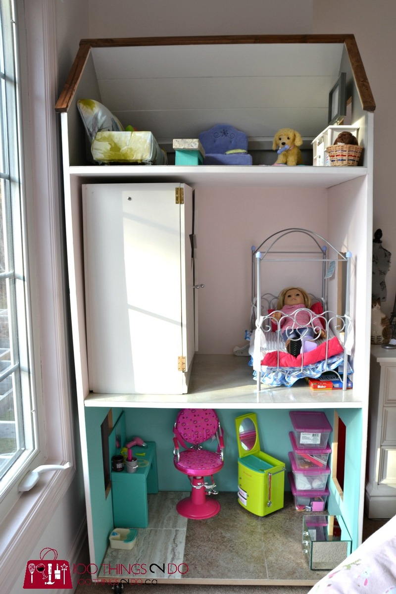 Ana White DIY Dollhouse for American Girl Dolls DIY Projects
