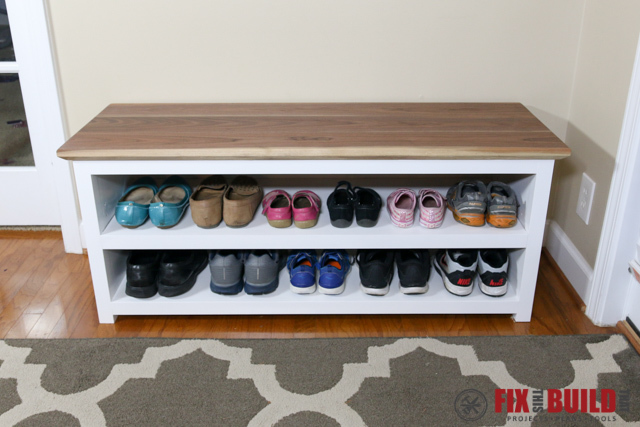 Diy Shoe Bench
