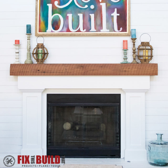ana white fireplace surround and mantel diy projects rh ana white com fireplace surround distressed fireplace surround discounted