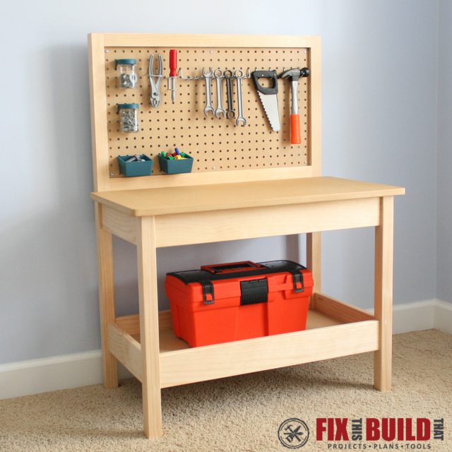 You can see the full build plans on my DIY Kids Workbench post over at ...