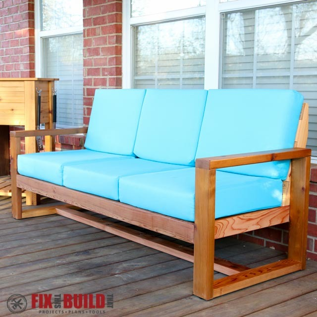 Modern Outdoor Sofa | Ana White