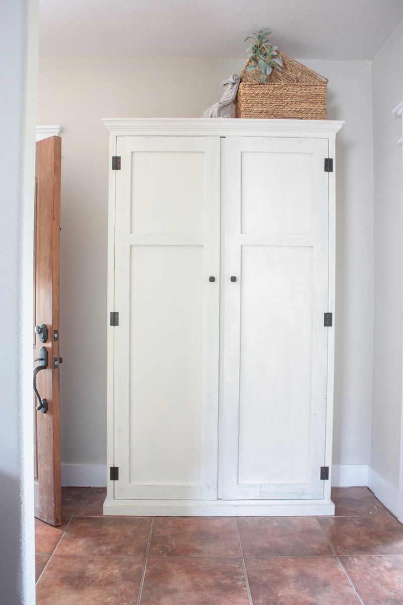 french armoire painted fjell size with county ana white ikea of wardrobe full doors for projects diy