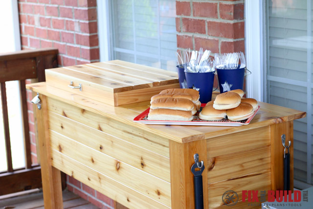 How To Build A Grill Cart. How To Build A Patio Cooler