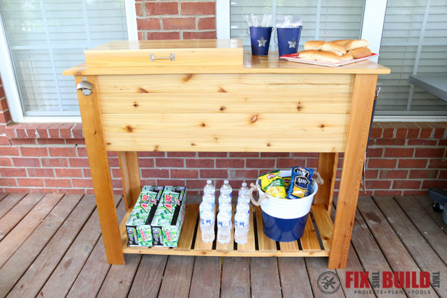 Nice How To Build A Patio Cooler