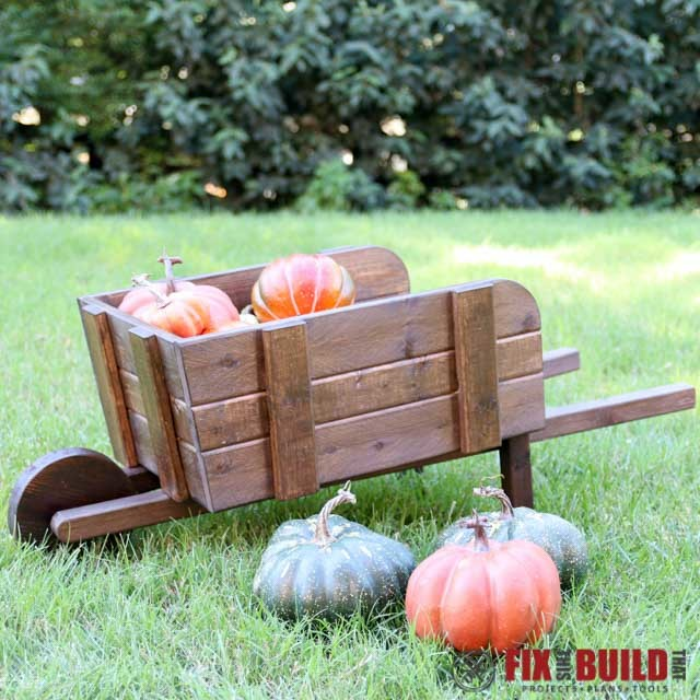 Rustic Wheelbarrow