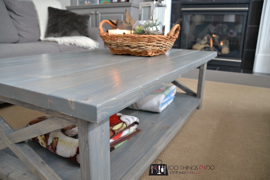 Ana White Bigger Rustic X Coffee Table Diy Projects