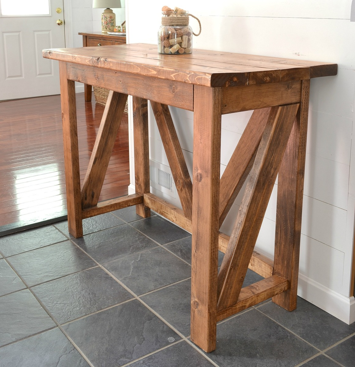Bar Stand Furniture: $40 Breakfast Bar - DIY Projects
