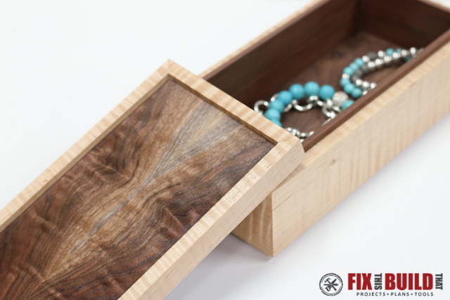 How To Make A Wooden Jewelry Box Magnificent Ana White Wooden Jewelry Box DIY Projects