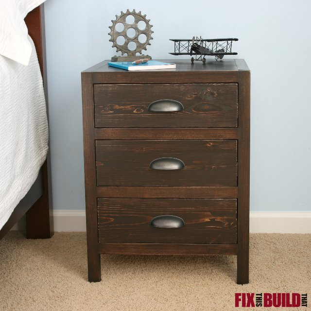 ana white diy 3 drawer nightstand diy projects. Black Bedroom Furniture Sets. Home Design Ideas