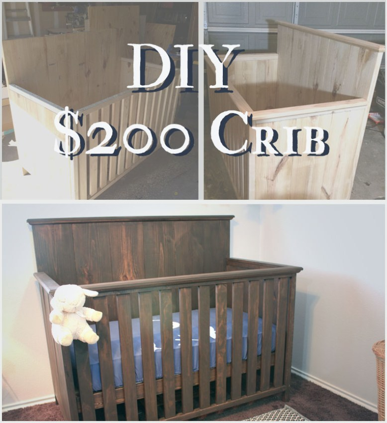 Ana White Baby Crib For 200 Diy Projects