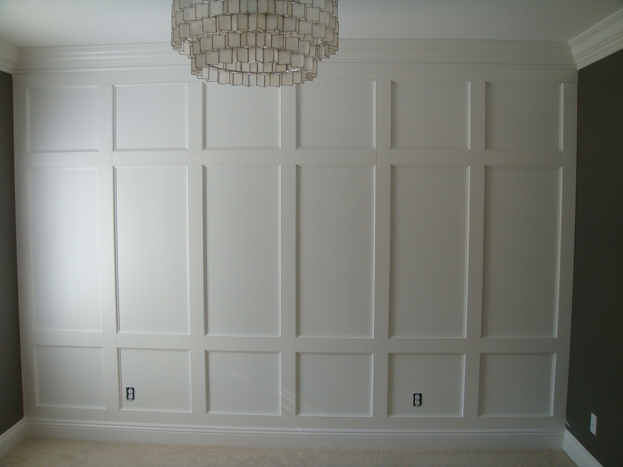 Bathroom Decorating Ideas Pinterest Ana White Wainscoting Feature Wall Diy Projects