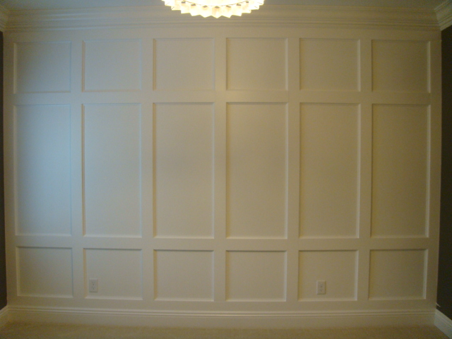 ana white wainscoting feature wall diy projects