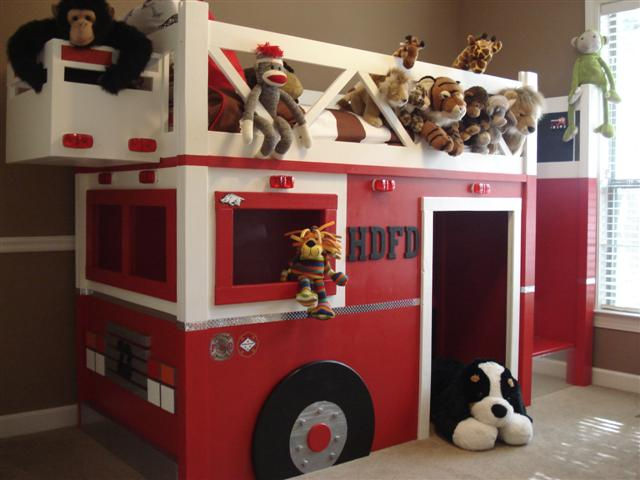 Ana White Fire Truck Bed Diy Projects