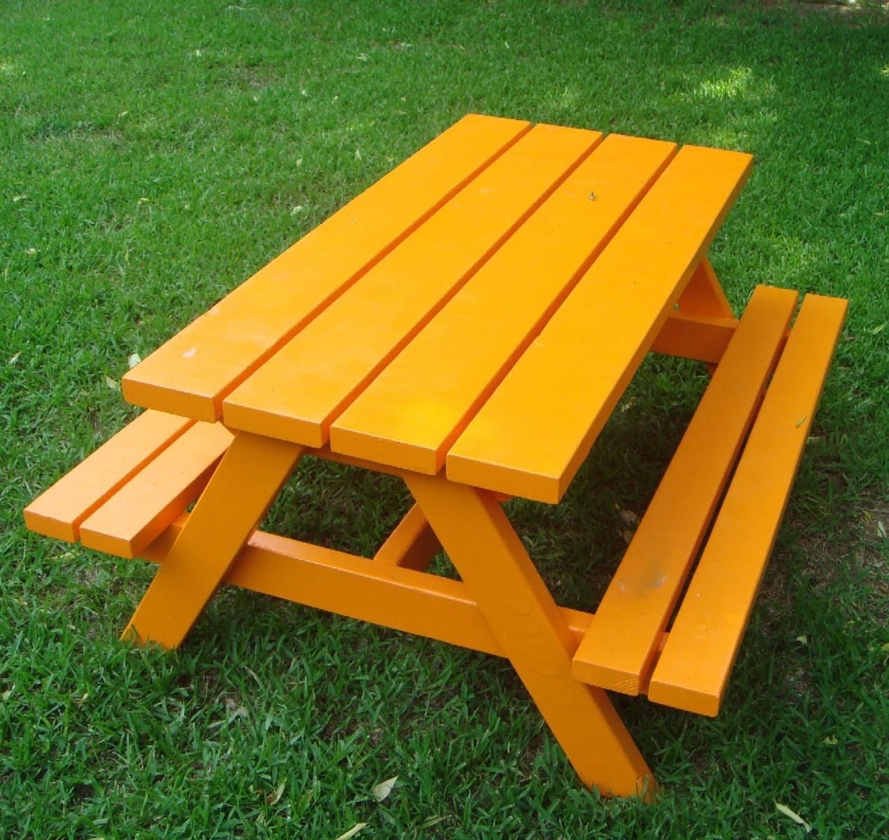 Ana White Build A Bigger Kids Picnic Table DIY Projects