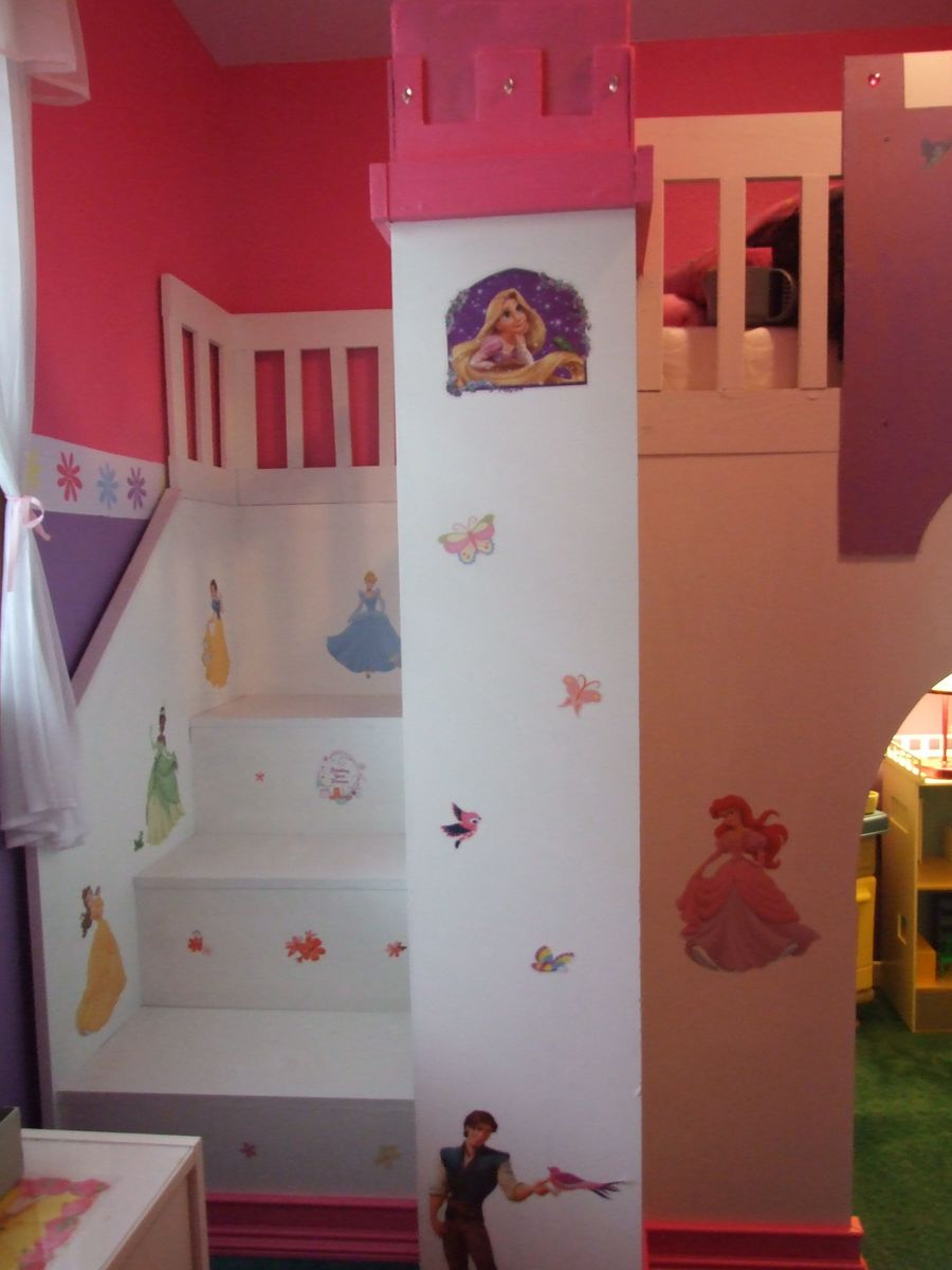 Kids loft bed with slide plans - An Error Occurred