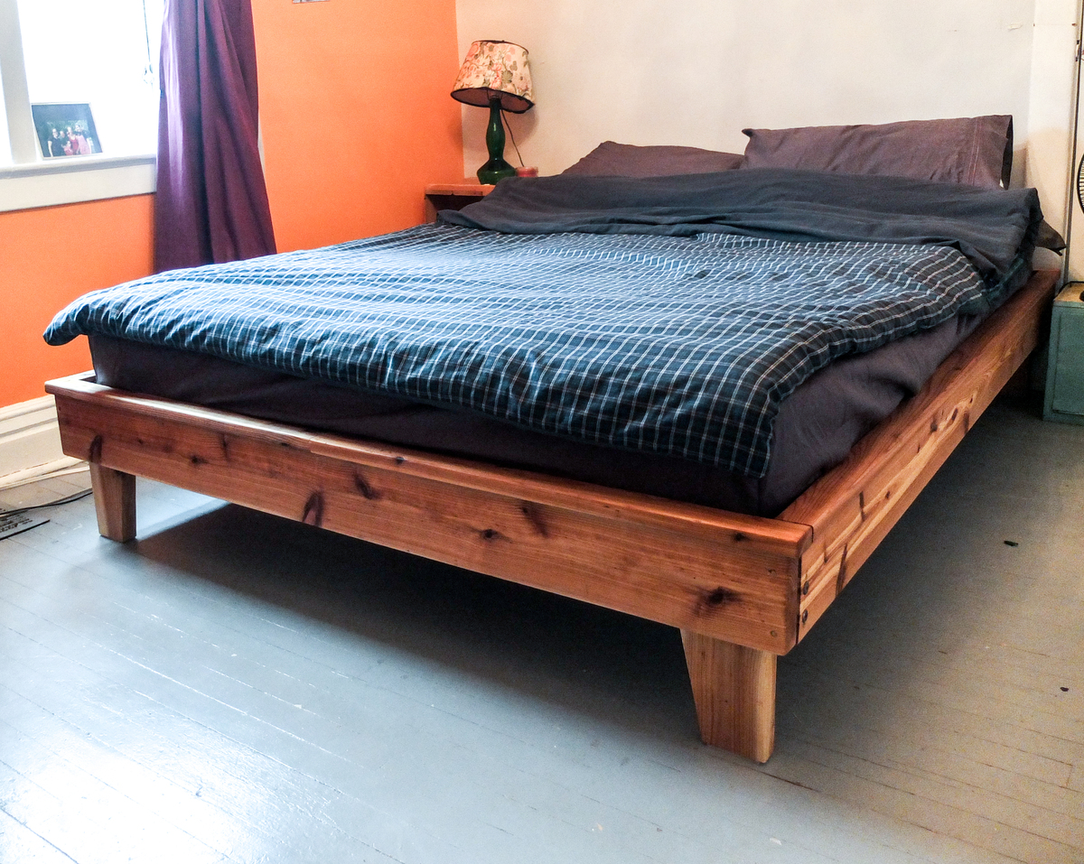 Ana white dimensional lumber platform bed diy projects - Plywood for platform bed ...