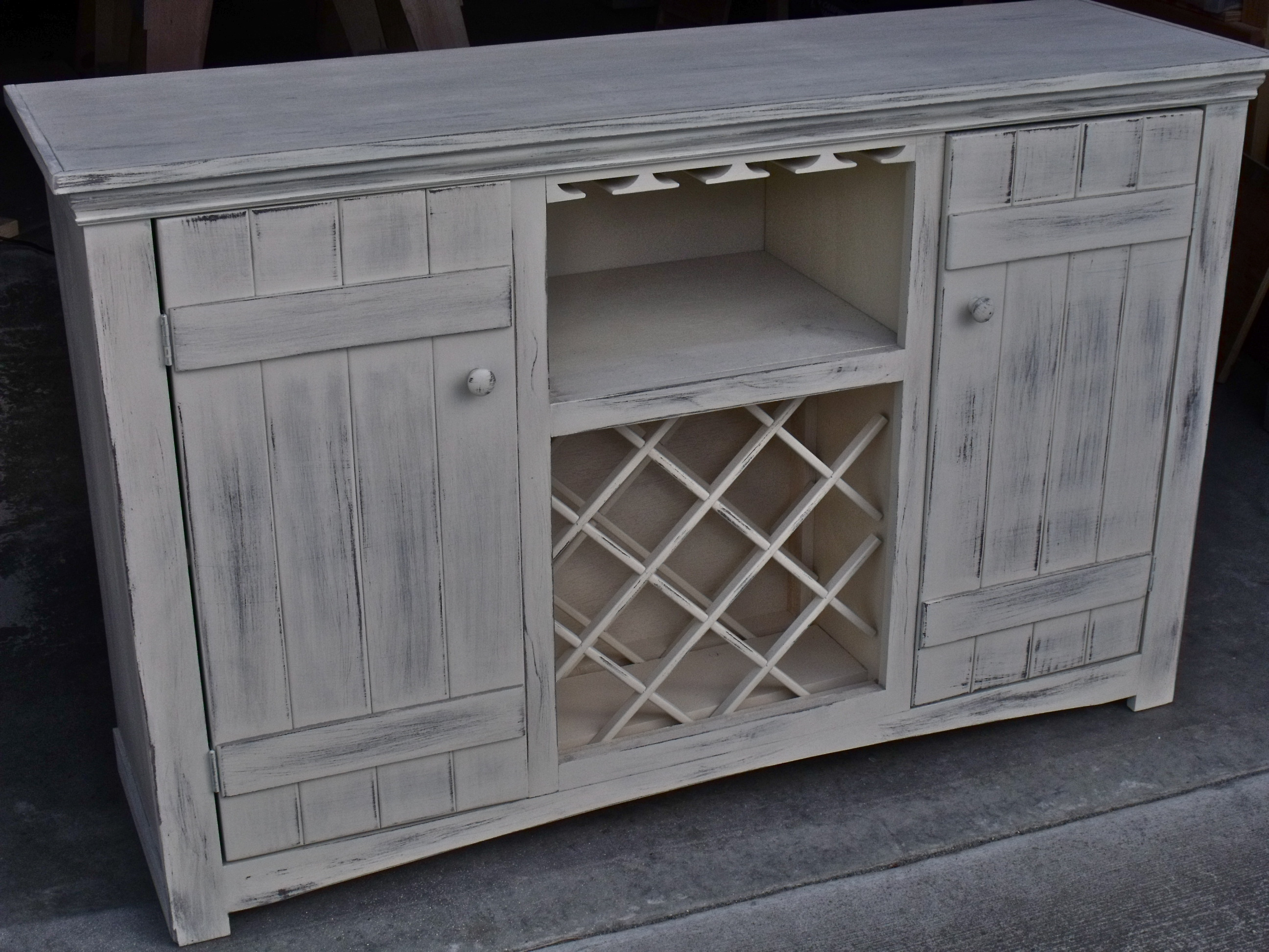 Ideal Ana White | Farmhouse Wine Buffet - DIY Projects DB31
