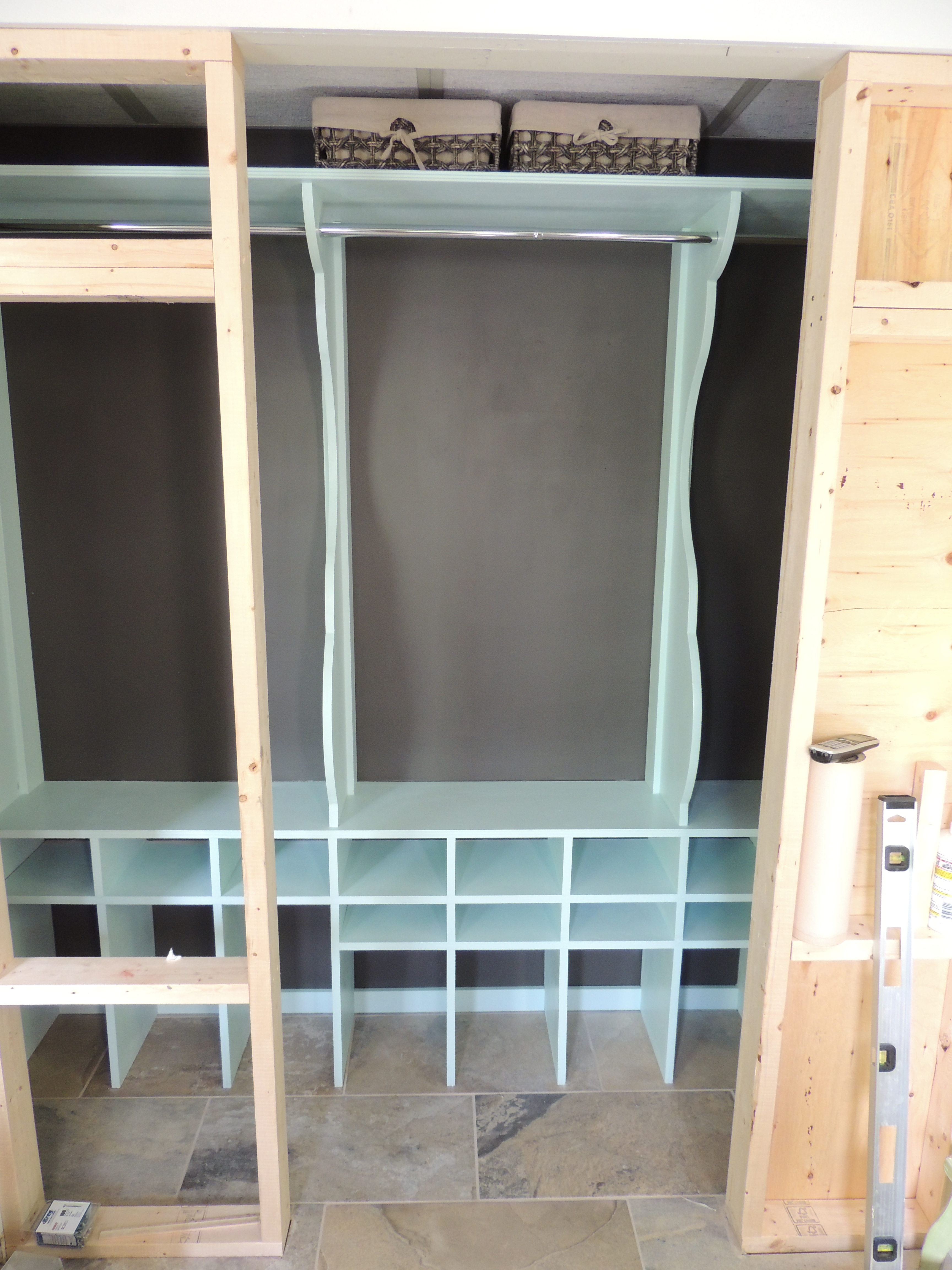 Entry Closet Organizer