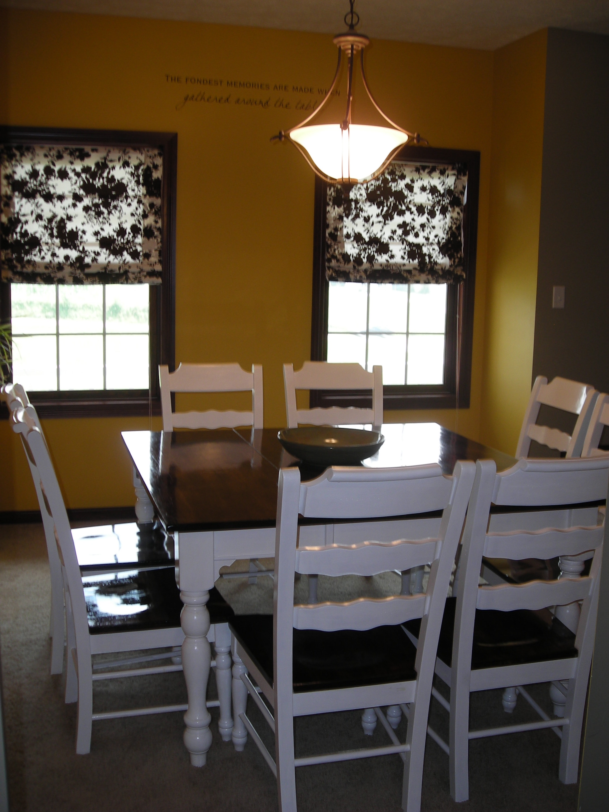 ana white refinished dining room set diy projects