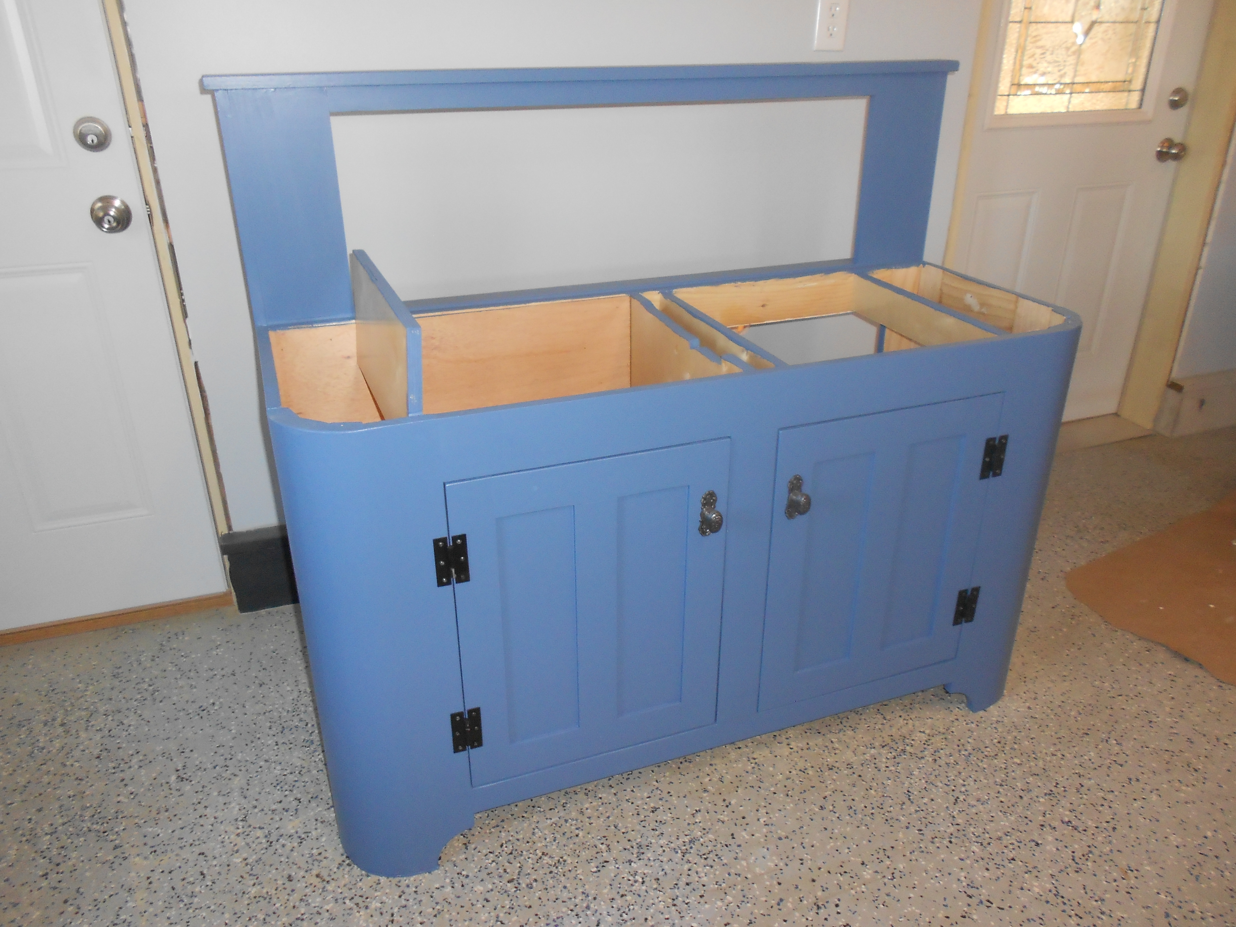 Ana White | Drainboard Sink Cabinet with Round Corners - DIY Projects