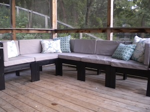 Ana White | Outdoor Sectional- The Great Outdoors - DIY Projects