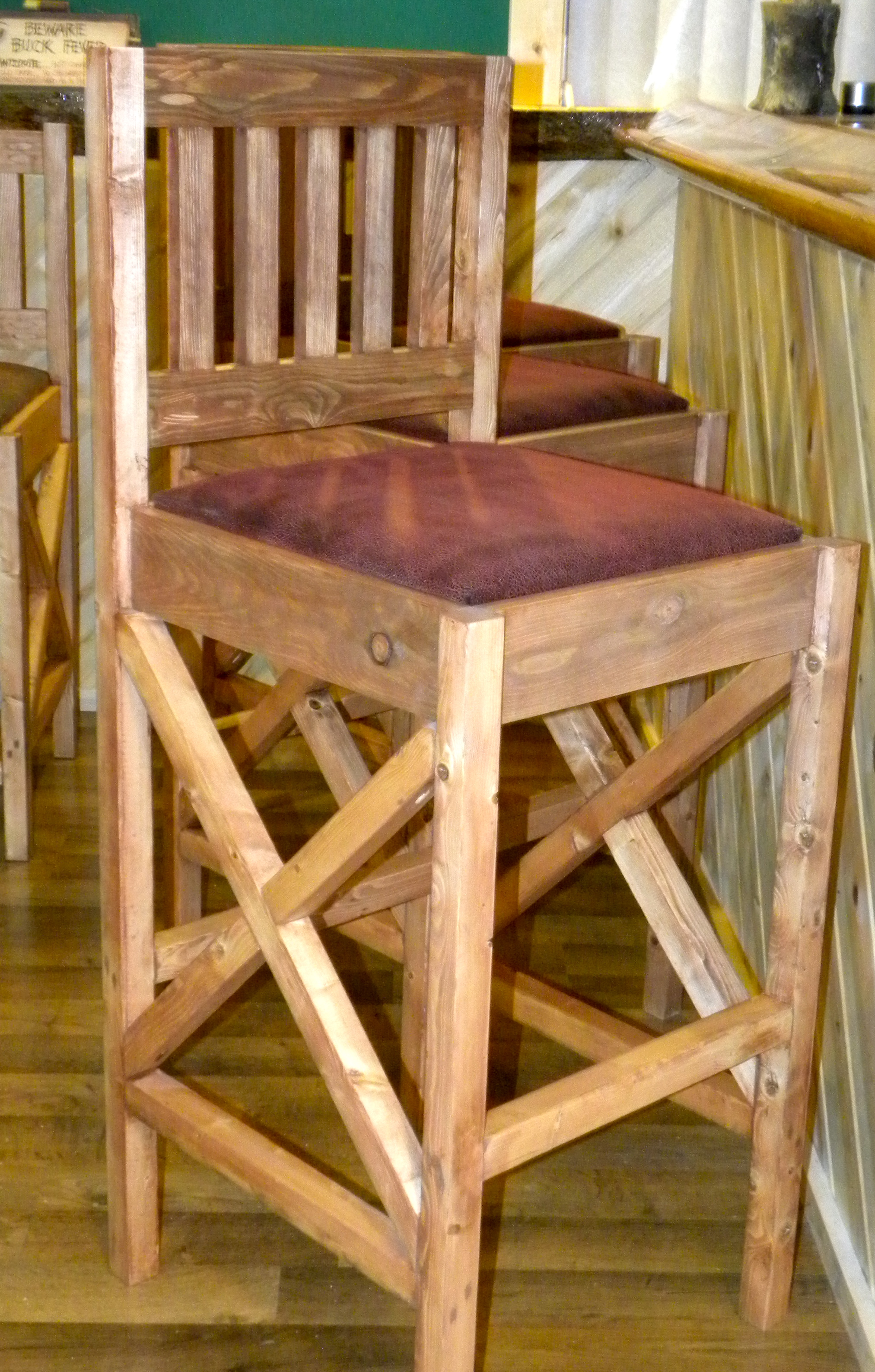 diy rustic bar. Rustic Bar Stools Ana White  DIY Projects