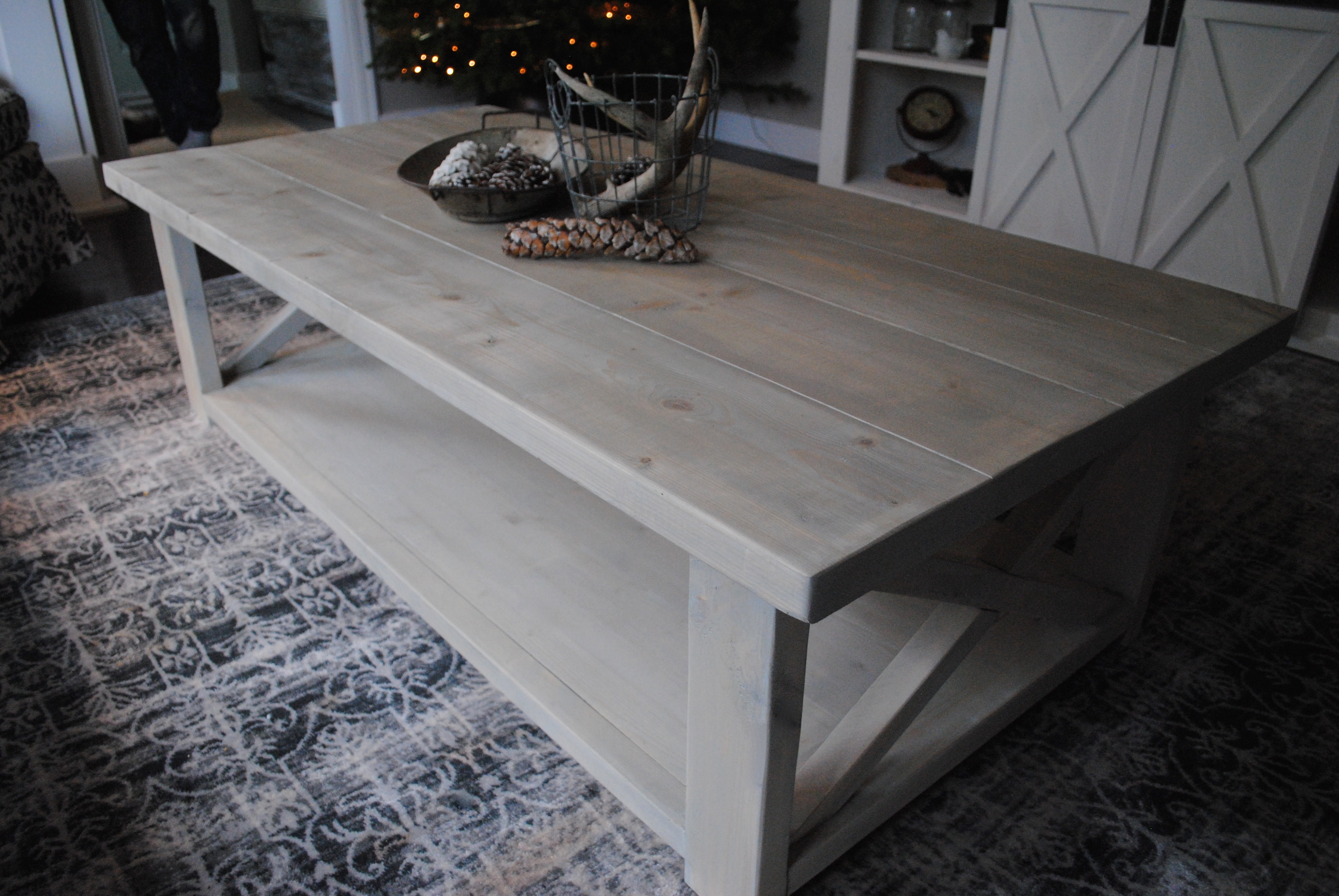 Ana White Rustic X Frame Coffee Table Diy Projects
