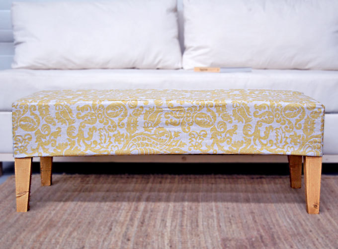 Beautiful Fabric Can Dress Up Even 2x4s. In The Background, Sofa Made Of A  Paint Drop Cloth. See The Difference?