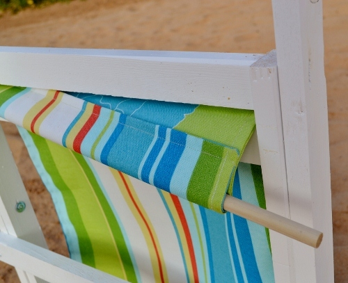 Ana White Folding Deck Beach or Sling Chairs Child Size DIY
