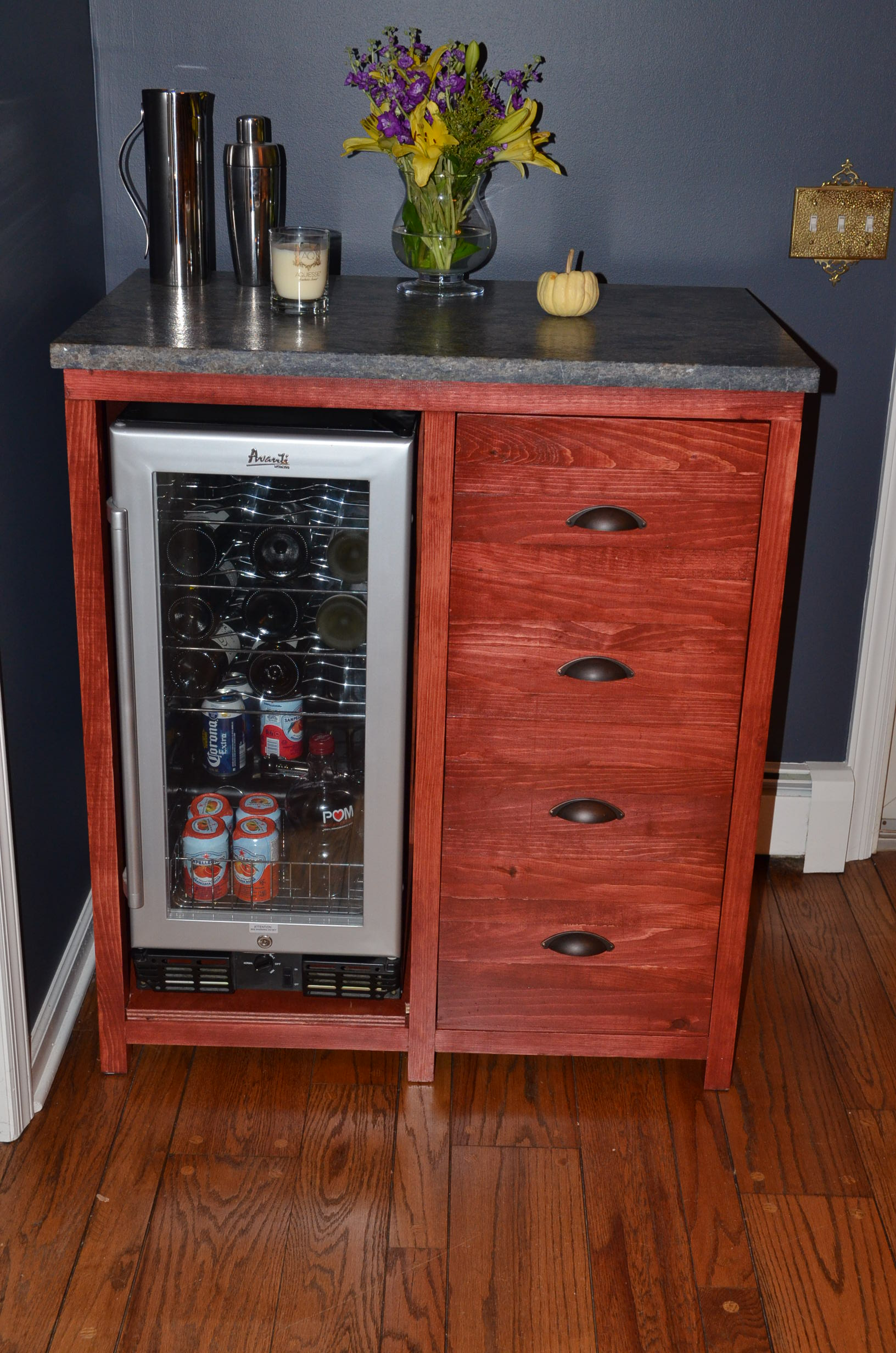 Bar Cabinet Ana White