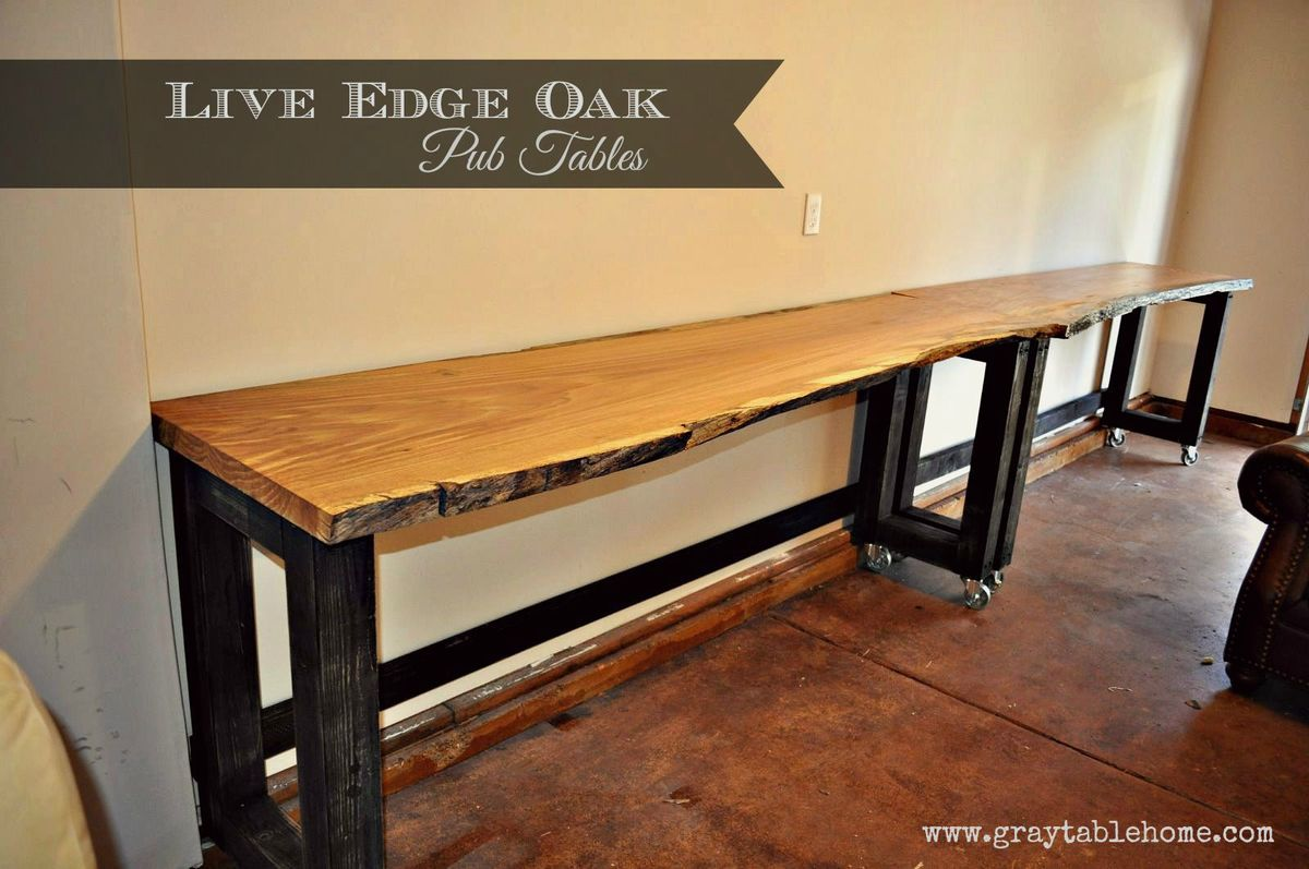 Ana White Diy Convertible Bar Pub Table Diy Projects