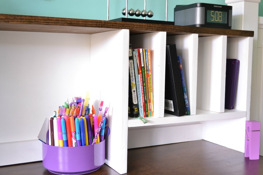 Epic Desk Hutch for File Cubby Base Desk with Drawers
