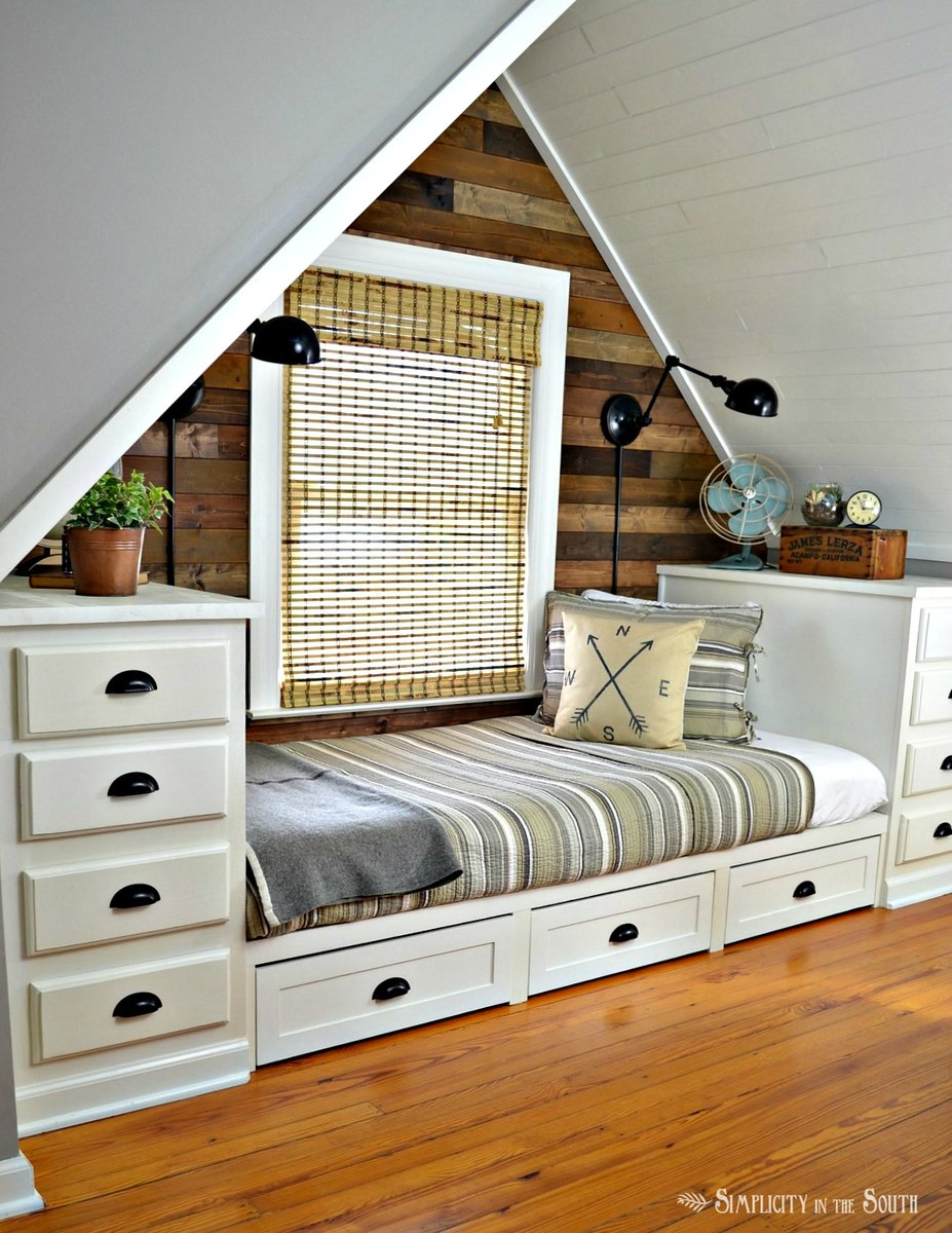 ana white built in bed with trundle drawers diy projects. Black Bedroom Furniture Sets. Home Design Ideas